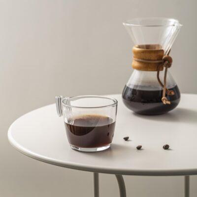 طرز تهیه ی قهوه با فیلتر کمکس